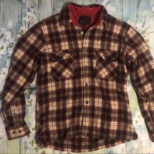 Other - Woodlands Plaid Wool Button Down